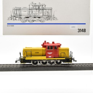 Märklin 3148.2 Diesellok Baureihe Di 5 der NSB, (22953)