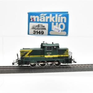 Märklin 3149.2 Diesellok BR 80 der SNCB, (21655)