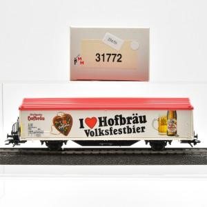 """Märklin 31772 Bierwagen """"I love Hofbräu Volksfestbier"""", (25670)"""