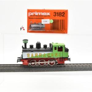 """Primex 3182 Dampflok Achsfolge C, """"SARRASANI"""", digital mit Decoder 6090, (21766)"""
