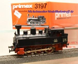 "Primex 3197 Dampflok Achsfolge C, ""KLVM"", (10889)"
