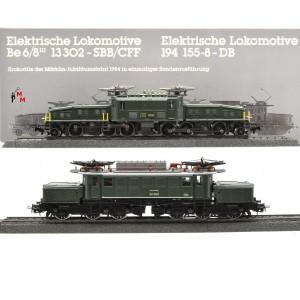 Märklin 3300 E-Lok Jubiläumspackung 125 Jahre Märklin, (25304)