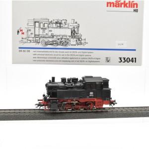Märklin 33041 Dampflok BR 80 DB, (23179)
