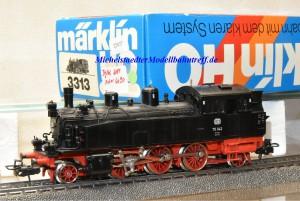 Märklin 3313.1 Dampflok BR 75 DB, digital Dec. 6090, (22027)