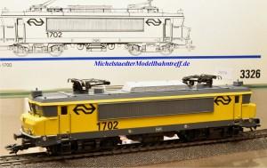 Märklin 3326.3 E-Lok Serie 1700 der NS, (20279)