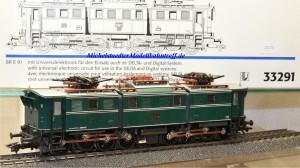 Märklin 33291 E-Lok BR E 91 der DRG, digital Dec. 60901, (20278)