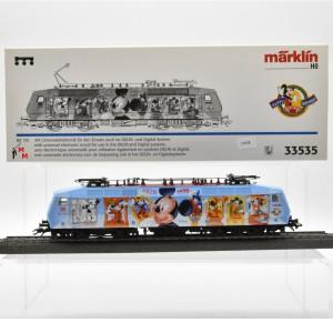 """Märklin 33535 E-Lok BR 120 der DB AG, """"Happy Birthday Micky Maus"""", (21628)"""