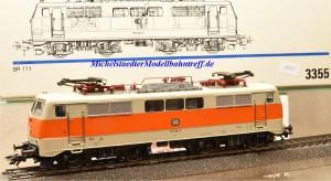Märklin 3355.1 E-Lok BR 111 der DB, (20277)