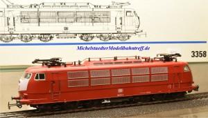 Märklin 3358 E-Lok BR 103 DB, digital Dec. 6090, (20272)