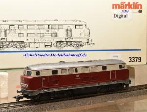 """Märklin 3379.5 Diesellokomotive BR V 160, DB, Vorserie """"Lollo"""", digital 60901, (21991)"""