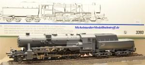 Märklin 3393 Dampflok BR 52 DRG, grau, digital mit 60760 Dec., (18153)