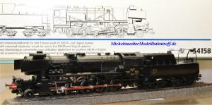 Märklin 34158 Dampflok Serie 56 der CFL, digital Dec. 60901, Rauchsatz, (22000)