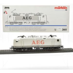 "Märklin 3441 E-Lok BR 143 DB ""AEG"", (21512)"