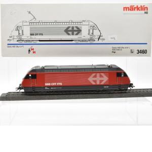 """Märklin 3460.4 E-Lok Serie 460 SBB, """"Rigi"""", Delta, (22676)"""