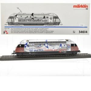 """Märklin 34614 E-Lok Serie 460 SBB, """"100 Jahre TCS: natürlich mobil"""", (21544)"""