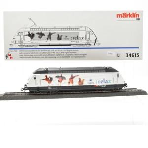 """Märklin 34615 E-Lok Serie 460 SBB, """"relax"""", (21523)"""
