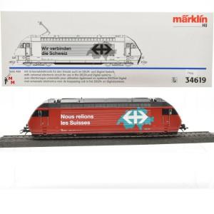 """Märklin 34619 E-Lok Serie 460 SBB, """"Wir verbinden die Schweiz"""", (21636)"""