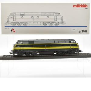 Märklin 3467 Diesellok Serie 55 SNCB, (25202)