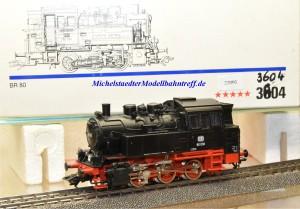 Märklin 3504.1 Dampflok BR 80 DB,digital Dec. 6080, (22093)