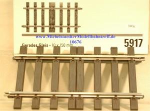 (Neu) Märklin 5917 gerades Gleis 150mm, (10676)