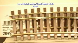 (Neu) Märklin 59075 gebogenes Gleis R 1394mm, 15°, (10669)
