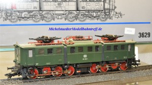 Märklin 3629.1 E-Lok BR E 191 DB, digital mit Dec. 6090, (2064)