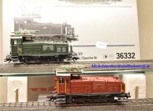 Märklin 36332 E-Lok - Doppelpack Serie Ee 3/3, SBB, (22072)