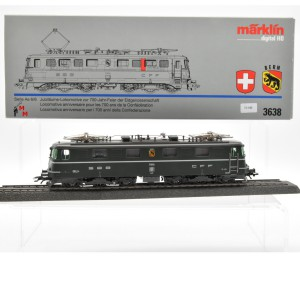 "Märklin 3638 E-Lok Serie Ae 6/6 SBB, ""700 Jahr Feier der Eidgenossen"", (21540)"
