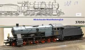 Märklin 37059 Dampflok Klasse K der K.W.Sts.E. mit Rauchsatz, (10601)