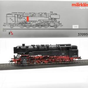 Märklin 37095 Dampflok BR 85 Dt. Bundesbahn, (23308)
