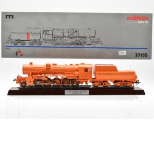 """Märklin 37155 Dampflokomotive BR 52 """"die Mennigfarbene"""", (25273)"""