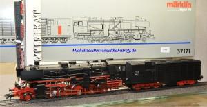 """Märklin 37171 Dampflok Baureihe 52K der DB, """"Kondenstender"""", Rauchsatz, (21996)"""