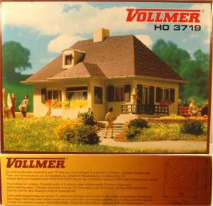 (Neu) Vollmer 3719 Bausatz Einfamilienhaus,