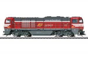 (Neu) Märklin 37215 Diesellok G 2000, FS, Serfer, Ep. VI,