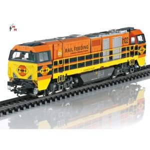 (Neu) Märklin 37298 Schwere Diesellok G 2000, RRF 1102 der NS, Ep.VI,