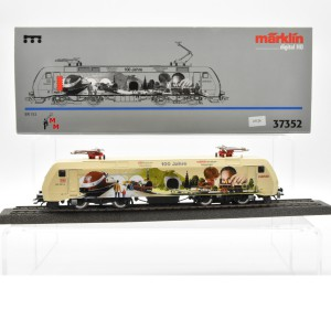 """Märklin 37352 E-Lok BR 152 DB, """"100 Jahre DB Museum Nürnberg-Märklin Museum Göppingen"""", (25126)"""