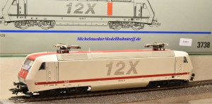 """Märklin 3738 E-Lok BR 128 """"12 X"""", (22071)"""