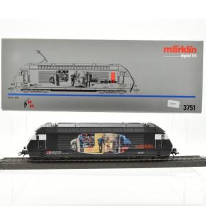 "Märklin 3751 E-Lok Serie 460 SBB, ""Heizerlok"", (21637)"