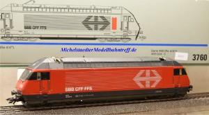 "Märklin 3760.2 E-Lok Serie 460 ""Rheintal"", SBB, (20262)"
