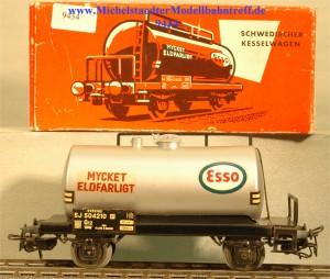 """Märklin 4524.3 Kesselwagen der SJ """"Mycket Eldfarligt"""", (9434)"""