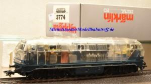 Märklin 3774.1 Diesellok BR 216 der DB, transparent, (890)