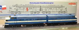"Märklin 3781.001 Diesellok F 7 ""Texas Pacific"", Umbau 3481 mit Dec. 60901, (21995)"