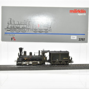 Märklin 3797 Dampflok Murnau, Baureihe VI der K.BAY.STS.B., (25288)