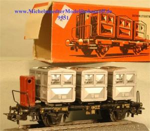 Märklin 4614.1 Behältertragwagen, (9551)