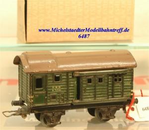 Märklin 390 K3 Güterzug-Gepäckwagen, (6487)