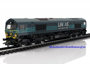 (Neu) Märklin 39062 Diesellokomotive EMD Serie Class 66, LINEAS, Ep.VI,