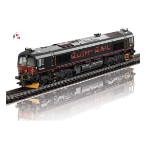 (Neu) Märklin 39068 Diesellokomotive Class 66, RushRail, SJ, Ep.VI,
