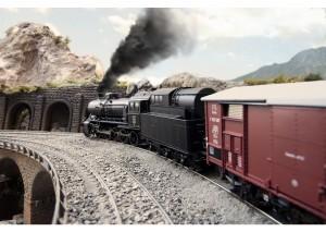 "(Neu) Märklin 39251 Dampflokomotive Serie C 5/6 ""Ölfant"", der SBB, Ep.III,"