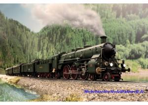 (Neu) Märklin 39436 Schnellzug-Dampflok S3/6 die Hochhaxige, Ep.I,