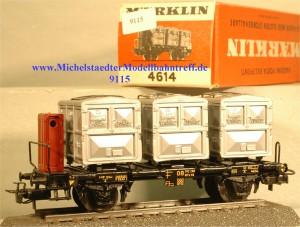 Märklin 4614.1 Behältertragwagen, (9115)